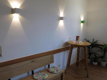 Kiefernorthopäde Bad Kreuznach Wartezimmer Lichtplanung Lichtkonzept Lampen Henrich