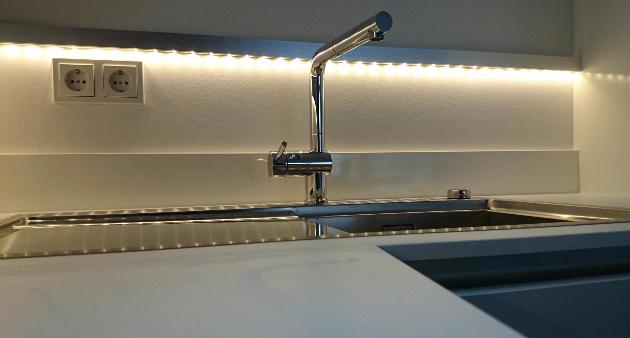 Küche Creativ Lampen Henrich LED Spüle