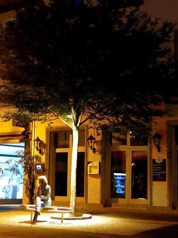 Bürgermeister Neff Platz Bingen Lampen Henrich